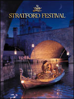 The Stratford Festival Theatre Playbill