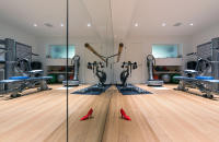 Exercise Room with Doorstop ~ Residential